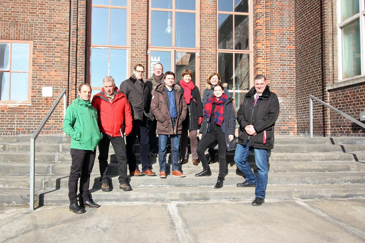 ForschungsprojekteProjektteam, Beiratsmitglieder und Workshopteilnehmer 14.2.17 im HTM Peenemünde