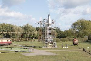 Restaurierung Rakete