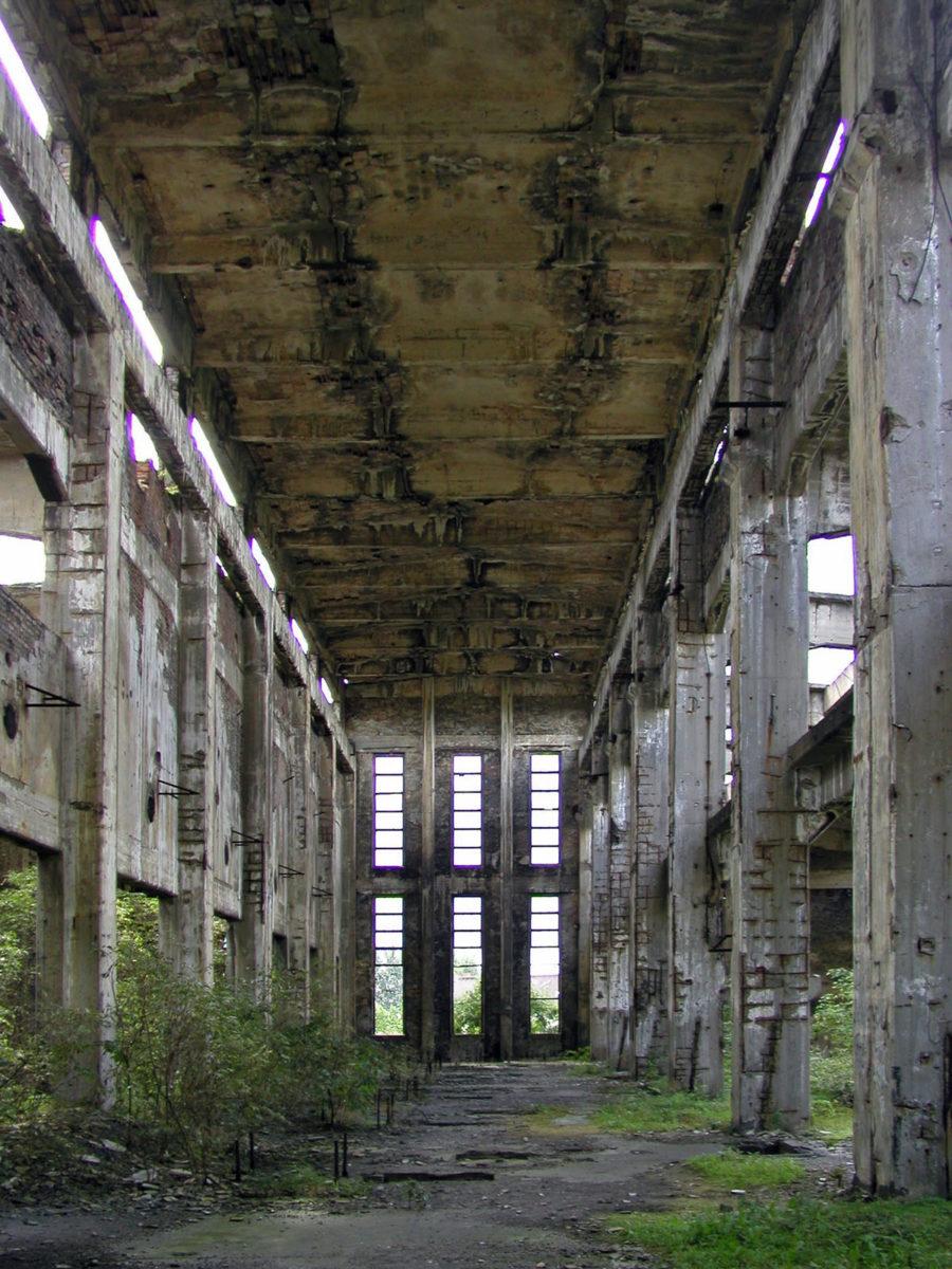Verladezone des Sauerstoffwerks. (HTM Peenemünde, Archiv)