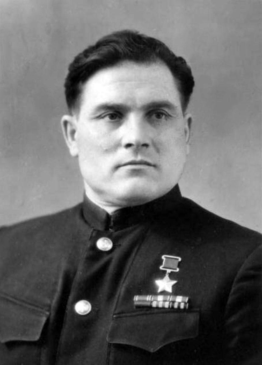 Ein Portrait von Michail Dewjatajew. (HTM Peenemünde, Archiv)